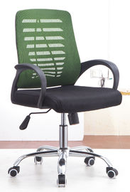 Marco resistente de gama alta de los PP de agua del pie de secretaria Office Chairs With Chrome